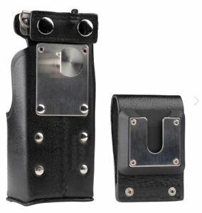 "Motorola NTN8381C Leather Carrying Case With 3"" Swivel Belt Loop"