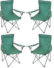 Yellowstone Essential Folding Chair Caravan Camping Garden Fishing With Bag