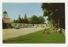 Canada Postcard Plaza Motel Street View - Hwy 2 - West Hill Ontario c1960 vtg 15