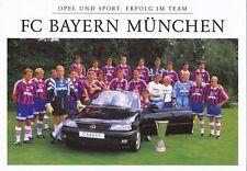 FC Bayern München  Mannschaftskarte 1996/97  nicht signiert 357652
