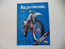 advertising Pubblicità 1980 MOTO KTM 125 MX '80