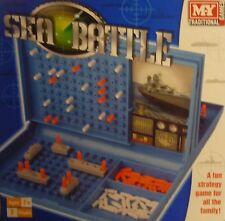 MY Traditional Games Sea Battle (Battleships) Board Game