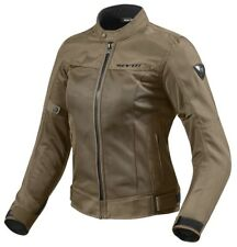 GIACCA MOTO DONNA LADIES REVIT REV'IT ECLIPSE ESTIVA MARRONE TG 34 (38 ITA)  XS