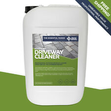 Essential DRIVEWAY Cleaner 25L FAST & EASY non-acid BRICK PAVING & BLOCK PAVERS