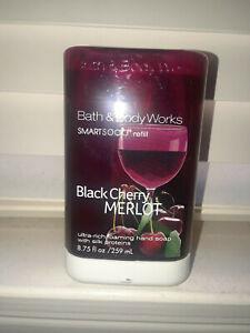 Bath & Body Works 8.75oz BLACK CHERRY MERLOT.SMARTSOAP FOAMING SOAP REFILL NEW