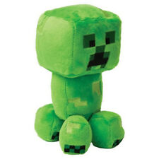 "Official JINX Minecraft - Happy Explorer - CREEPER - 7"" Plush Toy *NEW RELEASE!"