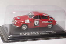 SAAB 96V4 #8 SWEDEN RALLY 1972  1/43 bon état en boite F20