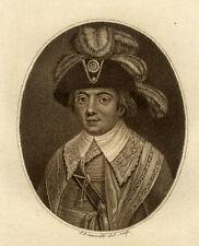 Quénard Portrait Nicolas François de Neufchâteau - Eau Forte Francois Bonneville