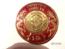 """Briefmarke des Königs von Buthan 1975 """"King Jigme Singye Wangchuk"""" !"""