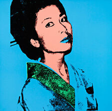 Kimiko A1+ by Andy Warhol High Quality Canvas Print