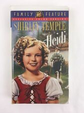 Heidi (VHS, 1998, Colorized) Shirley Temple