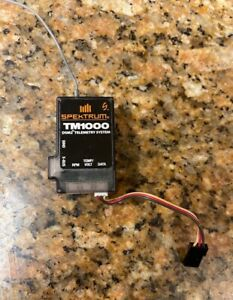 Spektrum TM1000 Add on full range telemetry module Used