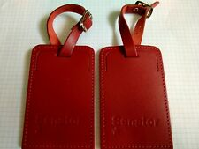 More details for lufthansa senator red luggage tag star alliance miles and more gold