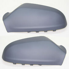 Right Left Wing Main Door Primed Mirror Cover Fits Vauxhall Opel Astra H