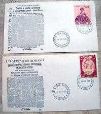 1969 VATICANO. LOTTO BUSTE AFFRANCATE IN OCCASIONE DEL SINODO DEI VESCOVI