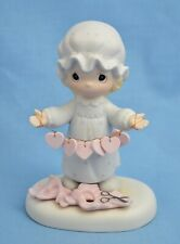 Enesco Precious Moments Girl You Have Touched So Many Hearts