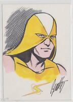PROJECT SUPERPOWERS SDCC EXCLUSIVE SKETCH CARD TERRY BEATTY & PROMO CARD