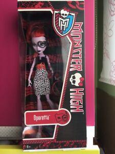 Monster High, Operetta Killer Style.