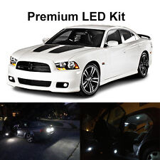 18 X White Led Interior Bulb Reverse Tag Lights For 2011 2014 Dodge Charger