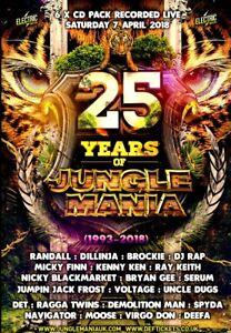 Junglemania - 25 Years Of Junglemania (JM6CD10)