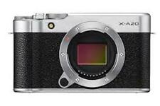 Fujifilm  X-A20 Mirrorless Compact System Camera (Body Only) - Silver
