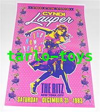 CYNDI LAUPER - New York, us - 31 december 1983 - concert poster