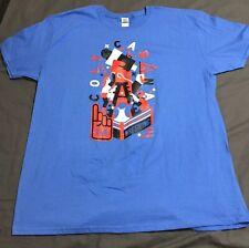 Colt Cabana Wrestling For Free Speech Mens T-Shirt Sz 2XL XXL ROH New