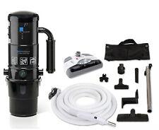 Prolux Cv12000 Black Central Vacuum Cleaner Unit System w Electric Nozzle & Hose