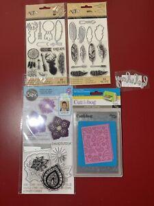Christmas Die, Stamp & Embossing Folder Lot - Sizzix, Basic Grey, Tim Holtz