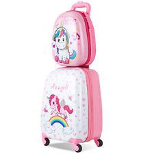 2 tlg. Kinder Kofferset Kindergepäck Set Reisekofferset Kindertrolley Handgepäck