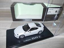 Ebbro 1/43 - Subaru BRZ - Silver - Mint in box