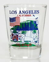 LOS ANGELES CALIFORNIA GREAT AMERICAN CITIES COLLECTION SHOT GLASS SHOTGLASS