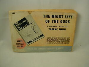 Thorne Smith The Night Life of the Gods Comic Novel Armed Services Edition RARE