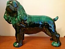 More details for canadian blue mountain pottery large spaniel dog figurine - free p&p