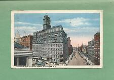 POWERS BLOCK & STATE STREET In ROCHESTER, NY On Vintage 1917 Postcard