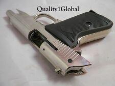 ITALY 3D SHINY METAL 007 WALTHER PPK BOND MOVIE PROP Pistol Replica Gun Training