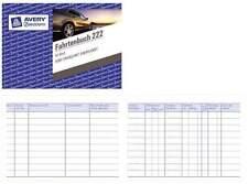 ZWECKFORM Fahrtenbuch PKW 222 A6 quer 40 Blatt Formularbuch Steuern Kilometer