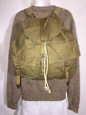 Vintage 1940's - 50's Army Backpack Military Camping Bug Out Bag Gifts for Men