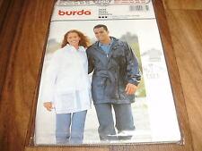 BURDA-PLUS Schnittmuster 2665           FREIZEIT-JACKE        Da:38-48  He:44-54
