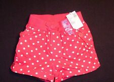 The Children's Place  Short - Pink W/White Circles - 9-12M  - 18-22LB