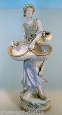 Große Amphora Figur Marketenderin 56 cm