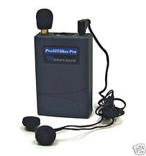 POCKET TALKER PRO PERSONAL SOUND AMPLIFIER & CHOICE OF EARPHONES- 121 dB AMPLIFY