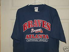 ATLANTA BRAVES T SHIRT MEDIUM NEW W/TAG