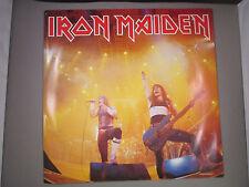 """IRON MAIDEN Running Free 12"""" single vinyl EMI 12 5532 UK import 1985"""