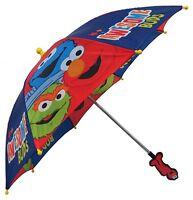 New Sesame Street Awesome Buds Boys Umbrella - 3D Handle