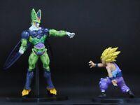 DragonBall Z CELL vs GOHAN 2 pcs set Action Figure Kids Gift Toys Manga Anime