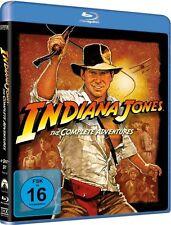 INDIANA JONES, The Complete Adventures (4 Blu-ray Discs) NEU+OVP