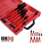 AUTOMOTIVE SNAP RING PLIER CIRCLIP 11PC SET TOOLS NEW Auto Shop Tool