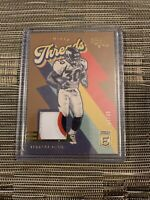 2020 DONRUSS ELITE THROWBACK THREADS PATCH TERRELL DAVIS BRONCOS GOLD 08/15