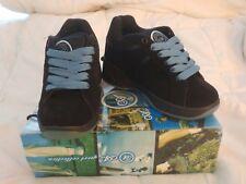 Single Wheel Roller / Skate Shoes, New Men's, Boy's, Blue Black Size 6